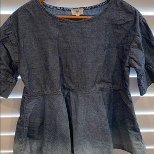 AG Adriano Goldschmied dip blouse size xs